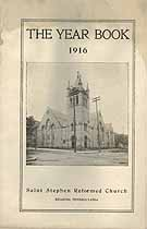 Thumbnail image of St. Stephen's Reformed Church 1916 Year Book cover