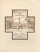 Thumbnail image of American Red Cross Bureau of Camp Service 1919 Farewell Party Program cover