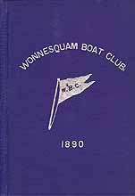 Thumbnail image of Wonnesquam Boat Club, 1890 cover
