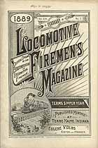 Thumbnail image of Locomotive Firemen's Magazine 1889 February cover