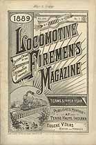 Thumbnail image of Locomotive Firemen's Magazine 1889 January cover