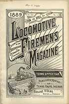 Thumbnail image of Locomotive Firemen's Magazine 1889 April cover