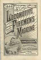 Thumbnail image of Locomotive Firemen's Magazine 1889 June cover