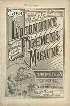 Thumbnail image of Locomotive Firemen's Magazine 1889 July cover