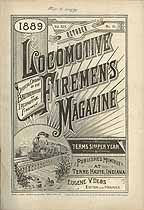 Thumbnail image of Locomotive Firemen's Magazine 1889 October cover