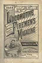Thumbnail image of Locomotive Firemen's Magazine 1889 December cover