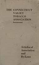 Thumbnail image of Connecticut Valley Tobacco Association 1922 By-Laws cover