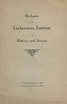 Thumbnail image of Lackawanna Institute 1916 By-Laws cover