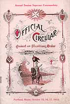 Thumbnail image of Supreme Commandery K. of M. 1912 Official Circular cover