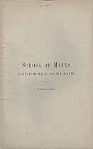 Thumbnail image of Columbia College, School of Mines, 1868-69 cover
