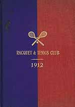 Thumbnail image of NYC Racquet & Tennis Club 1912 cover