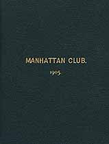Thumbnail image of Manhattan Club 1905 List of Members cover
