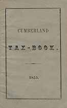 Thumbnail image of Cumberland 1855 Tax Book cover