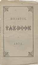 Thumbnail image of Bristol 1875 Tax Book cover