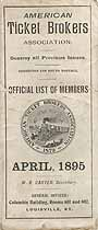 Thumbnail image of American Ticket Brokers Association 1895 Members cover