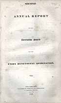 Thumbnail image of Union Benevolent Association 1833 Report cover