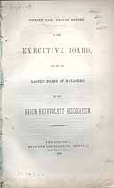 Thumbnail image of Union Benevolent Association 1852 Report cover