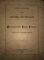 Thumbnail image of Mooresville High School 1865-66 Catalogue cover