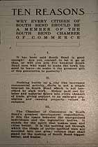 Thumbnail image of South Bend Chamber of Commerce 1911 Membership cover
