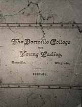 Thumbnail image of Danville College for Young Ladies 1888-89 Catalogue cover