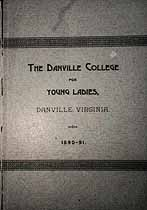 Thumbnail image of Danville College for Young Ladies 1890-91 Catalogue cover