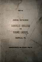Thumbnail image of Danville College for Young Ladies 1895-96 Catalogue cover