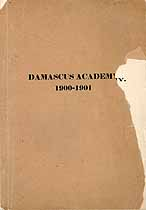 Thumbnail image of Damascus Academy 1900-1901 Catalogue cover