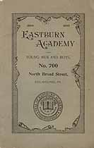 Thumbnail image of Eastburn Academy 1894-1895 Catalogue cover