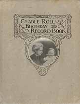 Thumbnail image of Nowata Church of God Sabbath School 1925-1931 Cradle Roll Record Book cover