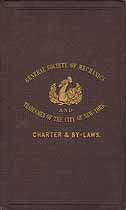 Thumbnail image of New York City Mechanics and Tradesmen Society 1866 Membership cover