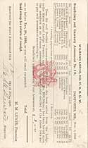 Thumbnail image of Wilband Lodge No. 37 A. O. U. W. 1906/1908 Deaths cover