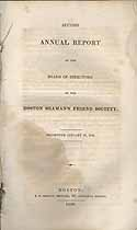 Thumbnail image of Boston Seaman's Friend Society 1830 Report cover