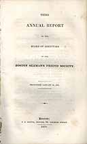 Thumbnail image of Boston Seaman's Friend Society 1831 Report cover