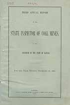 Thumbnail image of Kansas Inspector of Mines 1887 Report cover