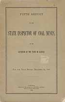 Thumbnail image of Kansas Inspector of Mines 1891 Report cover