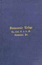 Thumbnail image of Swissvale Lodge, No. 656, F. and A. M. 1919 By-Laws cover