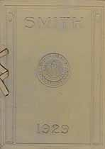 Thumbnail image of Smith College 1929 Commencement Program cover
