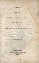 Thumbnail image of Royalton Academy 1834 Catalogue cover