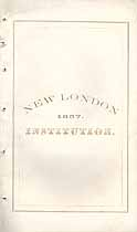 Thumbnail image of New London Literary and Scientific Institution 1857 Catalogue cover