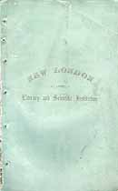 Thumbnail image of New London Literary and Scientific Institution 1858 Catalogue cover