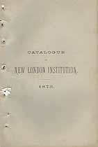Thumbnail image of New London Literary and Scientific Institution 1873 Catalogue cover