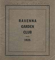 Thumbnail image of Ravenna Garden Club 1925 cover
