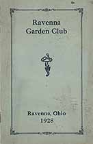 Thumbnail image of Ravenna Garden Club 1928 cover