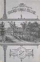 Thumbnail image of Chicago Female College 1882-1883 Catalogue cover
