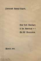 Thumbnail image of American McAll Association, New York Auxiliary, 1896 Report cover