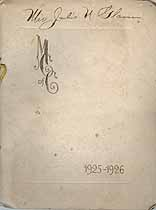 Thumbnail image of The Mothers Club 1925-1926 Membership cover