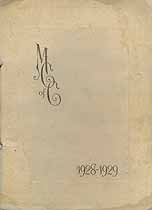 Thumbnail image of The Mothers Club 1928-1929 Membership cover