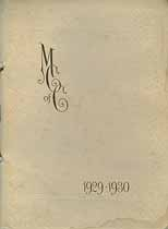 Thumbnail image of The Mothers Club 1929-1930 Membership cover