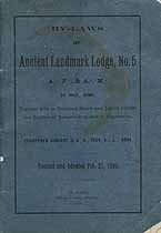Thumbnail image of St. Paul Ancient Landmark Lodge, No. 5, F. & A. M.1890 Roster cover