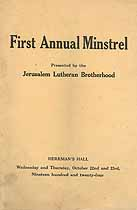 Thumbnail image of Jerusalem Lutheran Brotherhood 1924 Membership cover